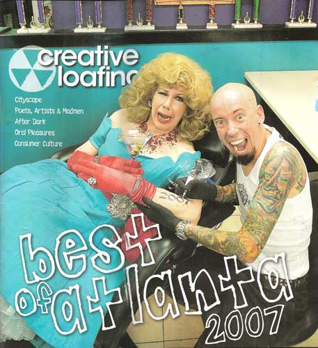 Best Tattoo Studio: All or Nothing Tattoo Readers' Pick Best Tattoo Artist: